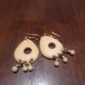 Handmade Earrings Wood